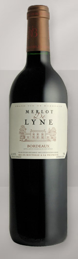 Bottle bordeaux De Lyne